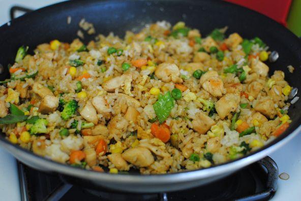 April's Chicken Fried Rice Recipe — Dishmaps