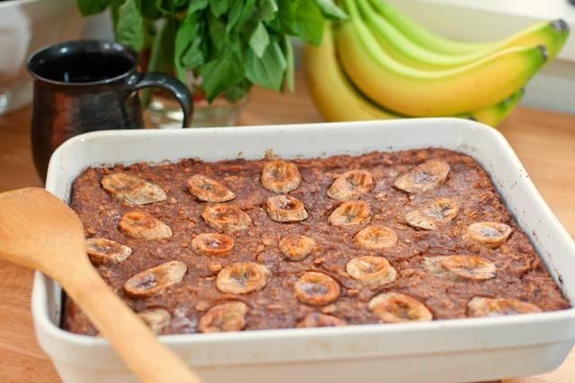 bananas foster oatmeal | Desserts/Sweet Treats | Pinterest