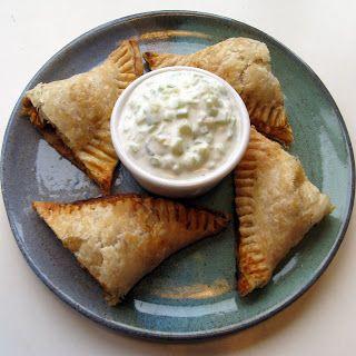 cookbrooke: Curried Chicken Empanadas | Empanada Recipes | Pinterest