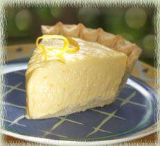 Meyer Lemon Custard-Cream Pie | I Love Lemons | Pinterest