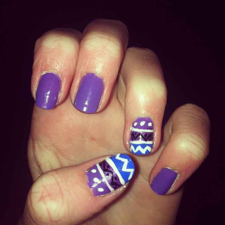 My current nail design | nails | Pinterest