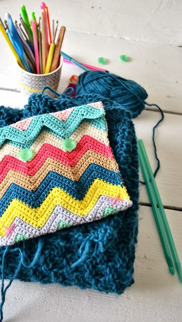 Crochet Tutorial Zigzag : ... .com/2013/10/tutorial-zali-zig-zag-chevron-crochet-pattern