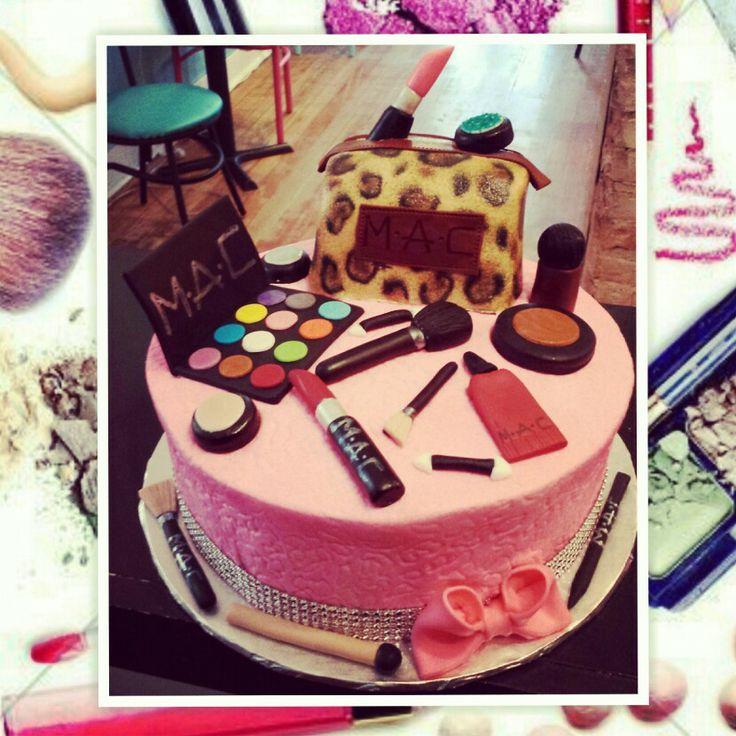 Happy Birthday Makeup Cake MyDrLynx