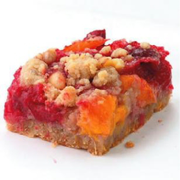 Cranberry-Orange Fruit Bars- These sweet-tart cranberry-orange bars ...