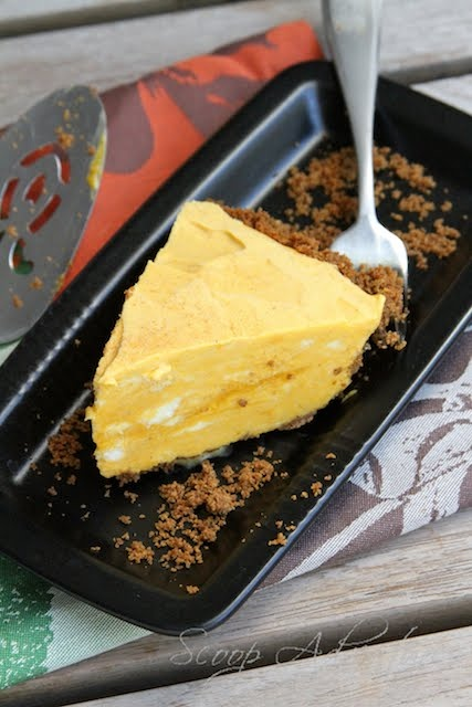 Pie Fair Lady: Pumpkin Spice Ice Box Pie by Scoop Adventures