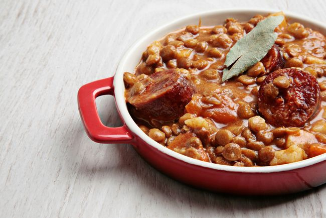 Spanish style lentils | eat | Pinterest