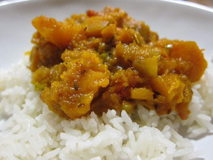 slow cooker indian spiced butternut squash - perfect for hot summer ...