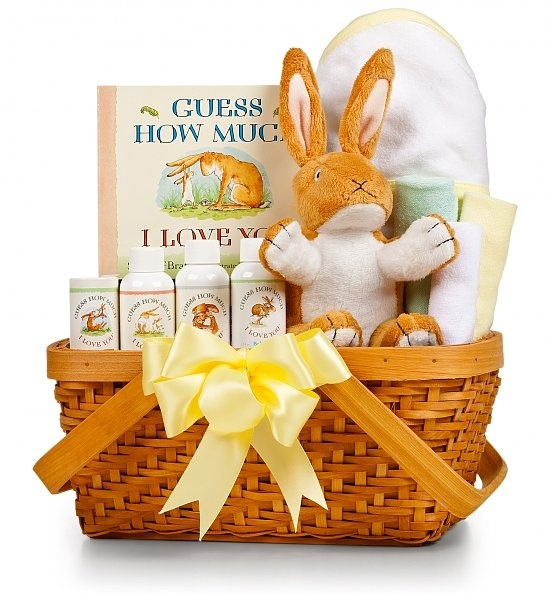 New Baby Gift Basket Usa : Guess how much i love you baby gift set gifts and