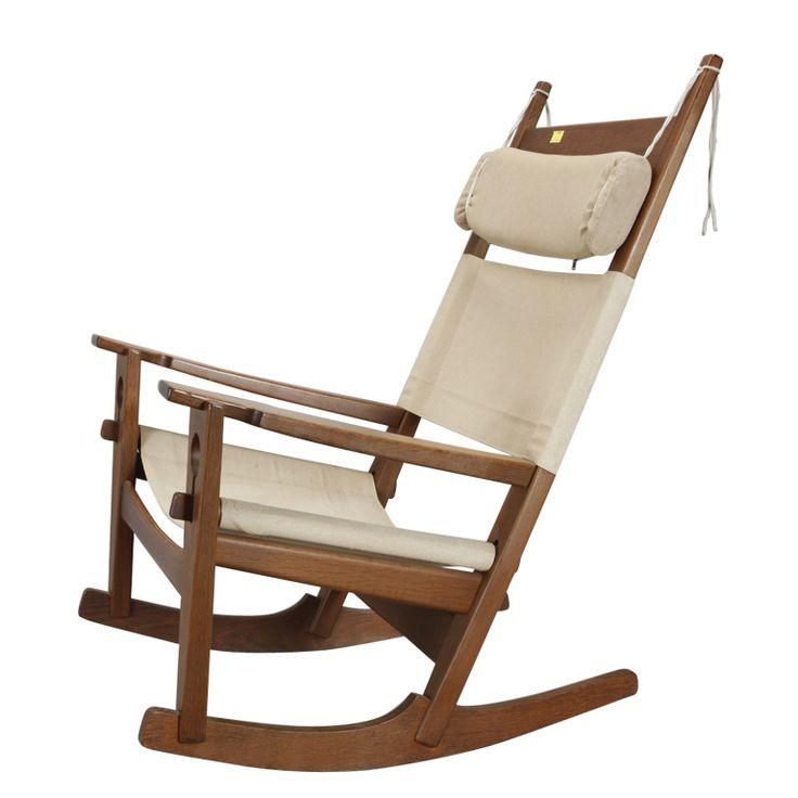 Hans Wegner Keyhole Rocking Chair