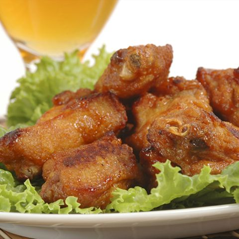 Oven Baked Sweet and Spicy Chicken Wings | The Wing Stops Here | Pint ...