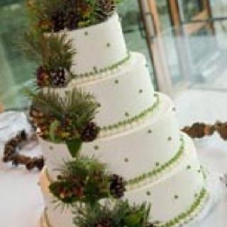 Pine cone cake | My Wedding!! | Pinterest