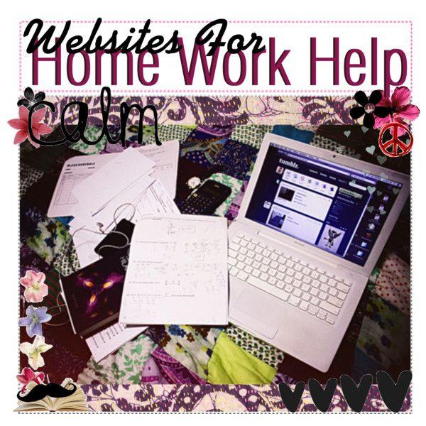Homework help websites for college students