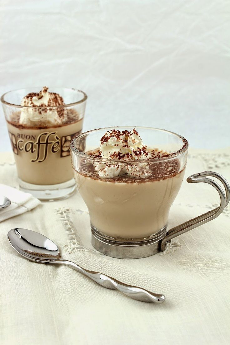 Easy, Fabulous Coffee Pudding | Panna Cotta & Pudding & Mousse | Pint...