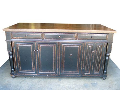 72 X36 Kitchen Island Solid Wood Top Custom Design Welcome