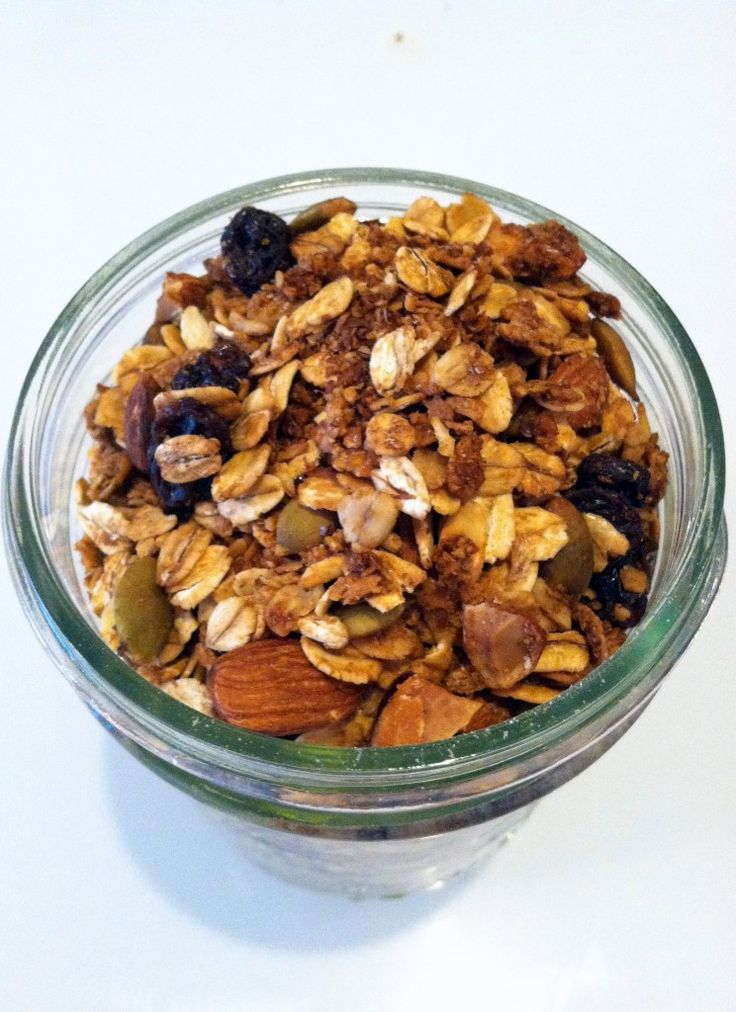 Easy Homemade Granola - made this today, adapting the recipe for what ...