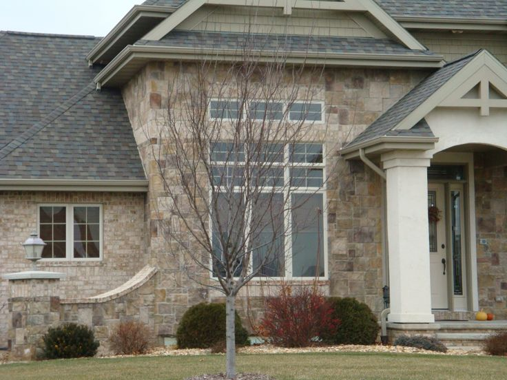 Stone and stucco 15 pheasant pinterest for Brick and stone combinations