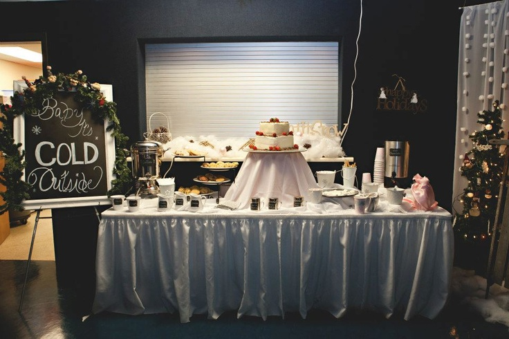 Pin by kayla on my winter wedding pinterest for Coffee bar at wedding reception