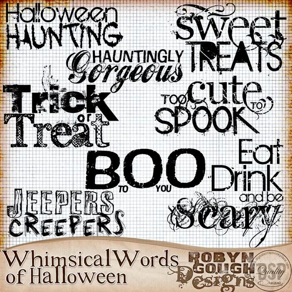 halloween words in italian
