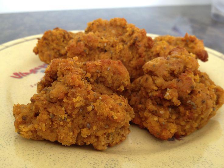 nutiva.com - Pumpkin Chia Protein Cookies #chia seeds #hemp #protein
