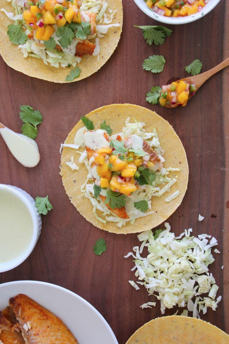 Anaheim Fish Tacos Recipe — Dishmaps