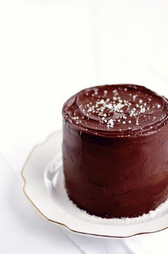 Sweet & Salty: Salted Caramel Chocolate Fudge Cake- made this for Shem ...