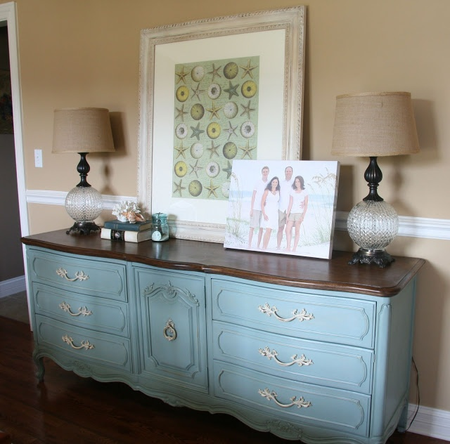 Paper daisy designs furniture dressers chest of for Painting over lead paint on furniture