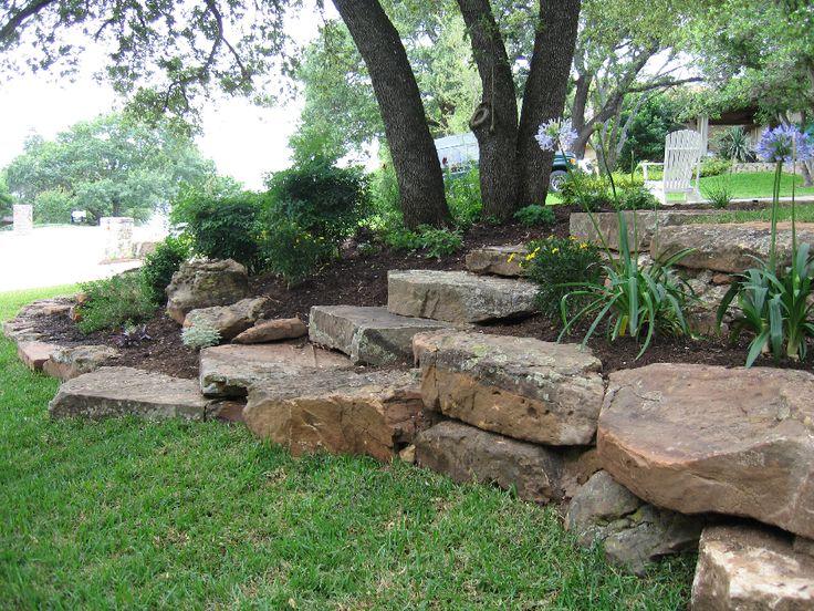 Boulder landscaping landscaping ideas pinterest for Landscaping rocks east bay