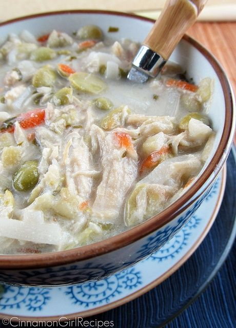 Thai Coconut Chicken Soup Recipe — Dishmaps