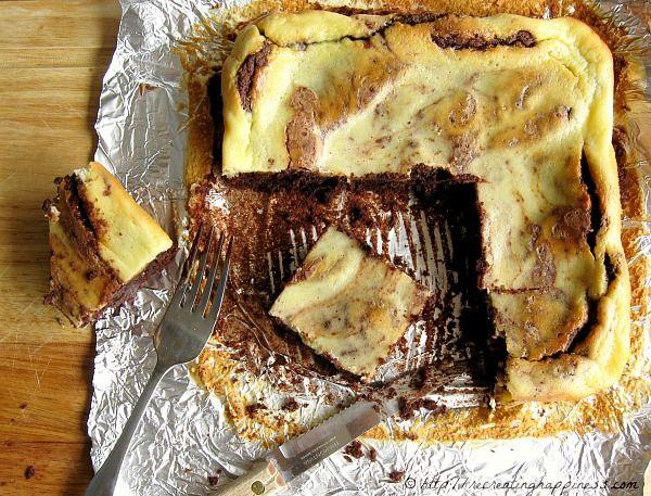 Gluten Free Cheesecake Brownies: Grain Free! Uses almond flour