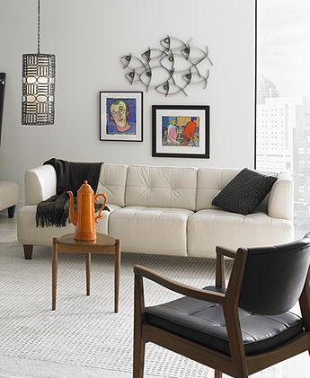 Alessia leather sofa home design ideas for Alessia leather chaise