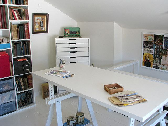 ikea art studio ikea alex sewing craft room pinterest. Black Bedroom Furniture Sets. Home Design Ideas