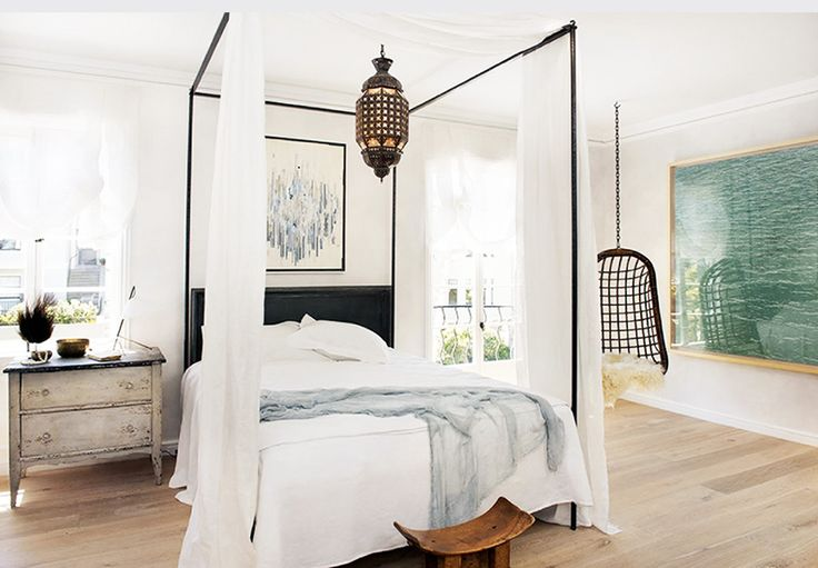 The Best Style Lessons 12 Top Designers Learned From Mom // Mother's Day, Will Wick, bedroom by Wick Design
