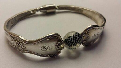 Hand made silverware bracelet my handmade jewelry pinterest