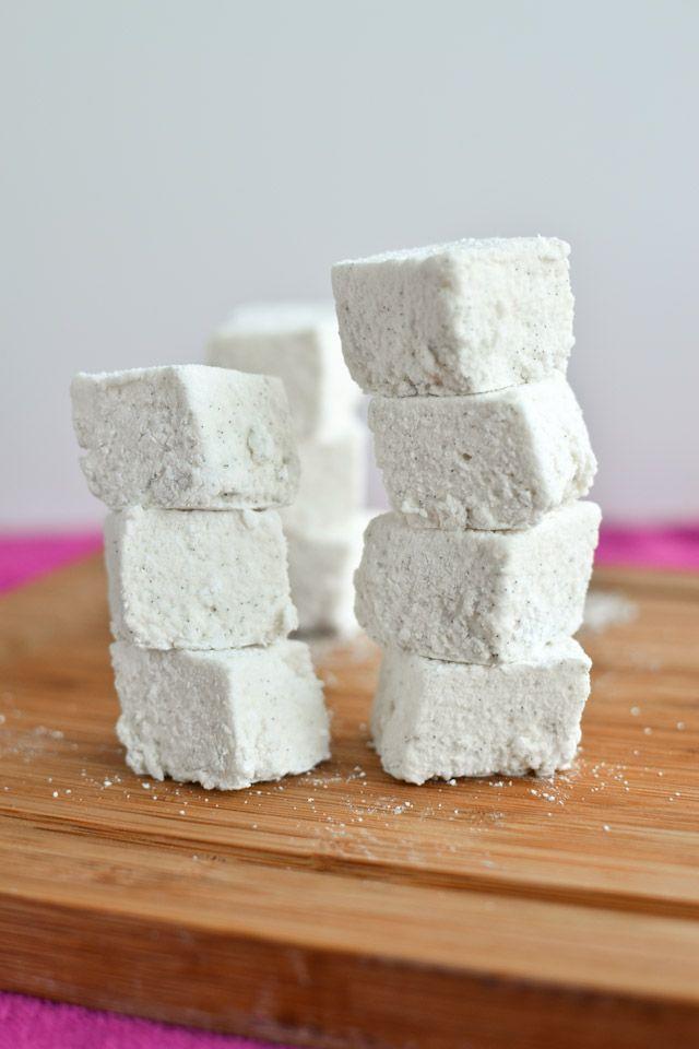 Homemade Vanilla Bean Marshmallows 45-50 marshmallows | Recipe
