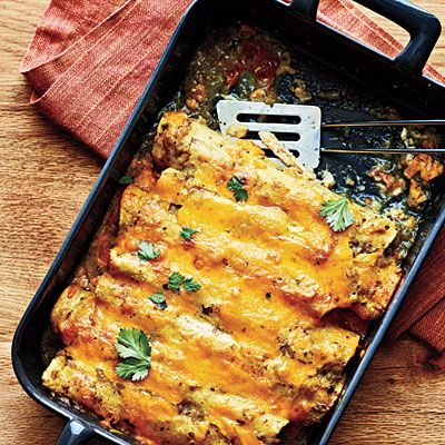 Chicken Enchiladas from Cooking Light | Recipes And Food Gift ...