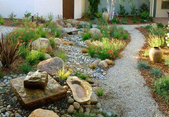 Xeriscaping ideas google search backyard pinterest for Jardines que necesitan poca agua