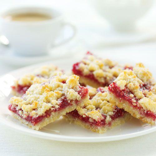 Raspberry Streusel Bars | Brownies, Bars | Pinterest