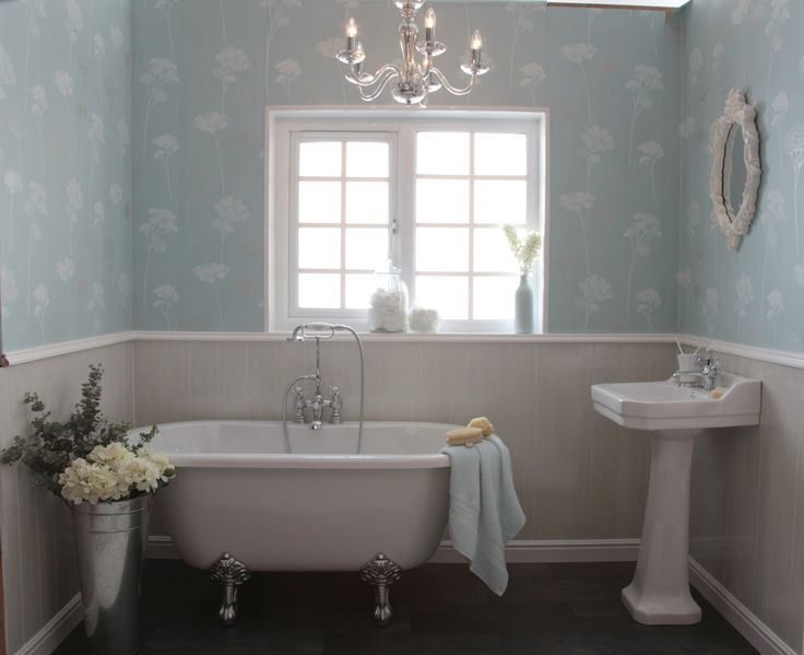 Tongue and groove bathroom new house pinterest for Bathroom ideas using tongue and groove