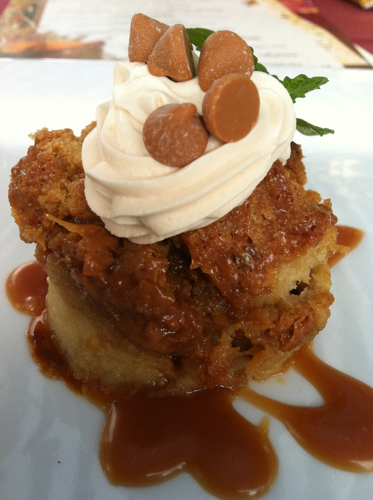 Salted Caramel Butterscotch Bread Pudding at #thorntonwinery in ...