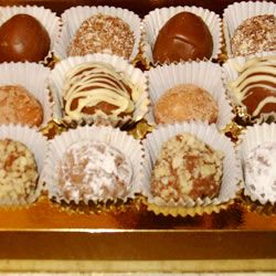 Easy Decadent Truffles Allrecipes.com | pastries an sweets | Pinterest
