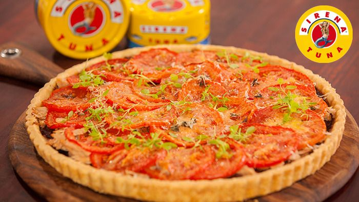 Tuna Tart | food | Pinterest