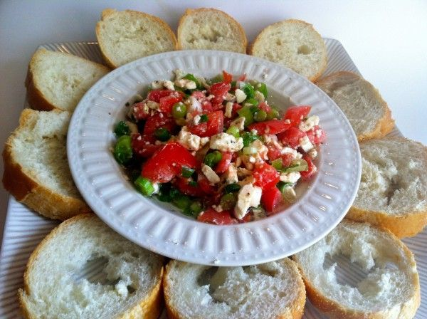 Greek Feta Dip: Olive Oil (I used EVOO), 1 pkg feta cheese (I liked ...