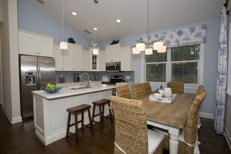 Beach blue kitchen condo ideas pinterest for Beach condo kitchen ideas