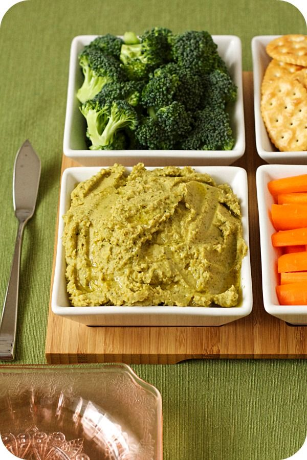 roasted broccoli hummus | savory goodness | Pinterest