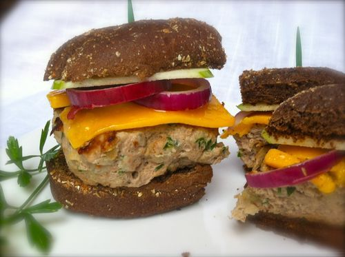 Try my Napa Valley inspired Herbed Turkey Burgers. Delicious and Easy!