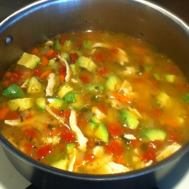 "Mexican Chicken Soup | Soups and Stews, ""the perfect comfort food ..."
