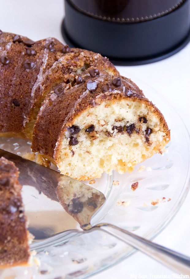 Chocolate-Chip-Coffee-Cake | aDesserts | Pinterest