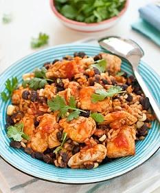Quick mexican chicken skillet