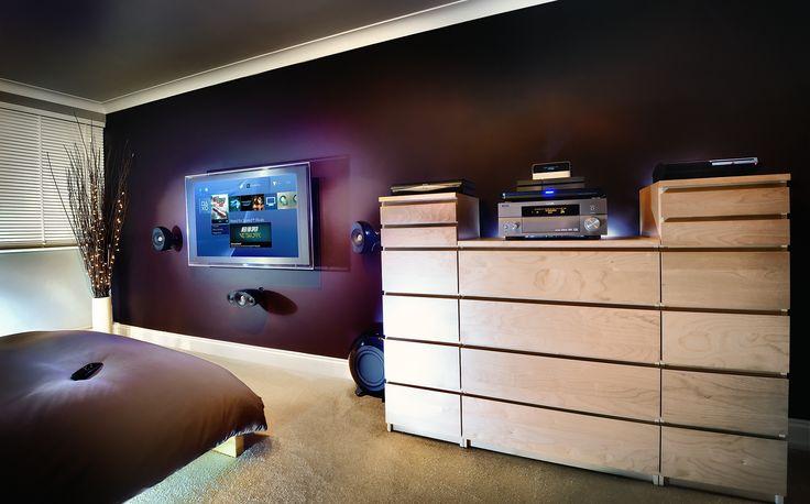 Bedroom setup PS4 PS3 Decorating
