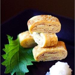 Tamagoyaki (Japanese Rolled Omelet) | Fancy food | Pinterest